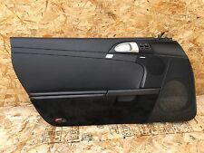 PORSCHE BOXSTER S (05-08) 987 997 DRIVER LEFT DOOR PANEL CARD COVER BLACK
