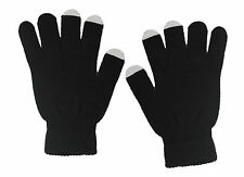 Acrylic Black touch screen Gloves
