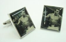 Muhammad Ali Down Goes Frazier Cufflinks Cuff Links Boxing Sport Hero Free Shipp