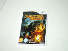 DANGEREOUS HUNTS 2011 complete in box with manual Nintendo wii videogame