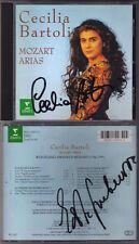 Cecilia BARTOLI & Edita GRUBEROVA Signed MOZART Arias Lucio Silla Figaro Cosi CD