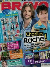 Magazin Bravo 10/2012,Ashton Kutcher,Charlie Sheen,Rihanna,Twilight,Miley Cyrus