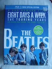 The Beatles Eight Days A Week Touring Years (Blu-ray 2-Disc Set) ALL REGION NEW
