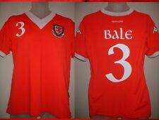 Wales Kappa Small Gareth BALE Home Football Soccer Shirt Jersey Real Madrid Top
