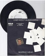 "Murray Head, One night in Bangkok, G-/VG  7"" Single 999-165"