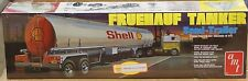 AMT Fruehauf SHELL Tanker semi trailer plastic 1/25 scale model kit #0918