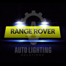 Range Rover Sport 2005 - 2012 Xenon White LED Number Plate License Light Bulbs