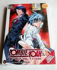ZOMBIE LOAN The Complete Anime TV Series Ep.1 - 11 End PLUS OST DVD Box Set