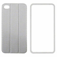 Apple iPhone 4 4S Housse de protection tidy tilt cordon wrap dos magnétique gris