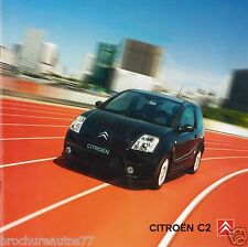 CITROEN C2 Catalogue commercial