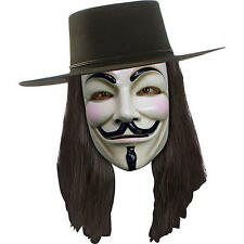 BRAND NEW Licensed ADULT V FOR VENDETTA WIG