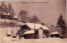 CPA  L'Hiver dans les Vosges - Ferme sous la neige   (200438)
