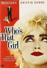 WHO'S THAT GIRL (1987 Madonna) - DVD - UK Compatible  - Sealed