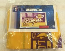 Lakers 2009 Championship 3x5 ft Banner!! Brand New in Original Packaging!!! RARE
