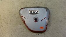 1968 Honda CL450 K1 Scrambler H554-5. right side cover