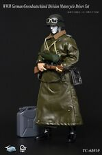TOYS CITY WWII German Grossdeutschland Division Motorcycle Driver Set 1/6