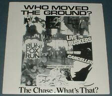 WHO MOVED THE GROUND? the chase*what's that? 1994 ICARUS PS 45 + 2 INSERTS