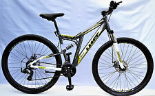 "MOUNTAINBIKE 29"" UMT ALU FULLY MTB, 21 SHIMANO, DISC BRAKE SPARKLE, ZOOM VORBAU"