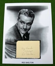 Red Skelton Autograph Flight Command Whistling in Brooklyn Lady Be Good #2