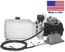 COMMERCIAL Hydraulic DC Power Unit - 4 Way Function - Side Mount - 0.86 Gal