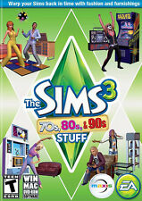 Sims 3: 70s, 80s, & 90s Stuff Pack (Windows/Mac, Region-Free) Origin Download