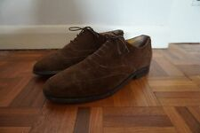 Barkers Mens Suede Albert Brogues Ex Cond Size 8G