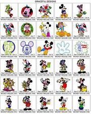 6,700 +/- DISNEY TV CARTOON BROTHER EMBROIDERY MACHINE DESIGNS PES ON CD