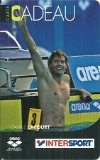 RARE / CARTE CADEAU : CAMILLE LACOURT - NATATION / INTERSPORT / ARENA - CARD