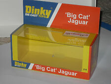 DINKY JAGUAR BIG CAT 219 CODE 3 DISPLAY BOX. LIMITED STOCK