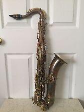 vintage saxophone low pitch ( H.Bettoney Boston ) # 127545