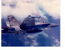 Boeing F18 Hornet NSAWC Navy Fighter Aircraft Photograph 8x10 Fallon NV