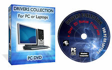 1,750,000 WINDOWS DRIVERS PACK DVD FOR XP VISTA 7 10 + BONUS SOFTWARE PACK