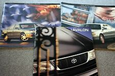 1996 1997 TOYOTA Sales Dealer Publication Lot AVALON Camry CAR Auto MOTORS Motor