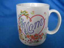 Avon Mom Coffee Mug-My Whole World Blossoms When I Think of You Valentine's  Day