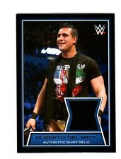 WWE Alberto Del Rio 2014 Topps Road To WrestleMania Event Used Relic Card DWC