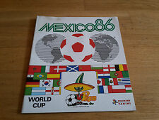 Panini Album WM 1986 WC Mexico 86, Leeralbum /empty album, quite good/recht gut
