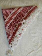 Original Palestine Jordan Middle East Red Keffiyeh Arab Shemagh Hatta