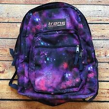 JANSPORT Trans ALL OVER PRINT BACKPACK School Bag Intergalactic Space Galaxy