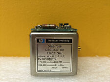 HP 5086-7266, 2 to 6.2 GHz, -10 to +20 VDC, SMA (F), Yig Tuned Oscilllator