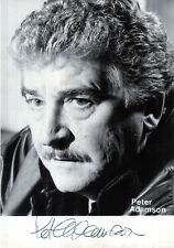 ACTOR PETER ADAMSON EARLY HANDSIGNED PROMO PHOTOGRAPH 5 x 3.5