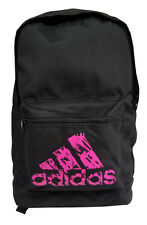 Adidas Multi Purpose Sports Gym Travel Backpack Bag Black Pink ADIACC093