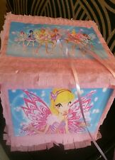 Winx Club Pinata with Sweets Birthday Party & Stick