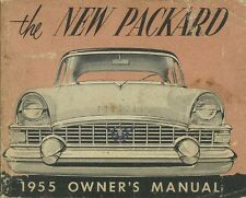 1955 Packard Owners Manual User Guide