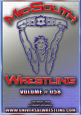 Mid-South Wrestling Volume  #58 DVD  The Express Showdown !!