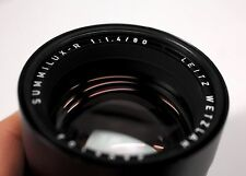 Leica Summilux-R 80mm f/1.4 MF 3 Cam Lens E67 #3202153 MINT Pristine  Read First