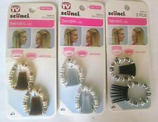 As seen on TV Scunci BENDINI hair CLIP barrette BEADs gorgeous jewelry accessory