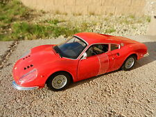 1:24 BURAGO *FERRARI* Model DINO 246 GT Sports Car *DIECAST* NEW!!