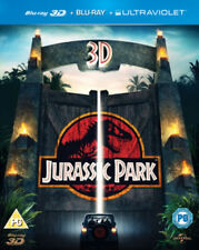 Jurassic Park (3D Blu-ray, 2013, 2-Disc Set)
