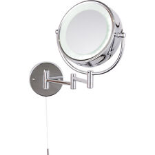 NEW Apus LED Round Magnifying Mirror IP44 Double Sided Each