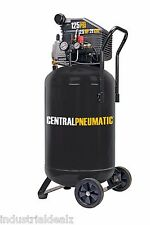 21 Gallon 125 PSI Cast Iron Vertical Air Compressor 2.5 HP Motor Portable Design